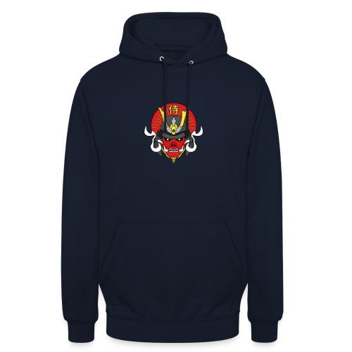 Samouraï Casque Démon - Sweat-shirt à capuche unisexe