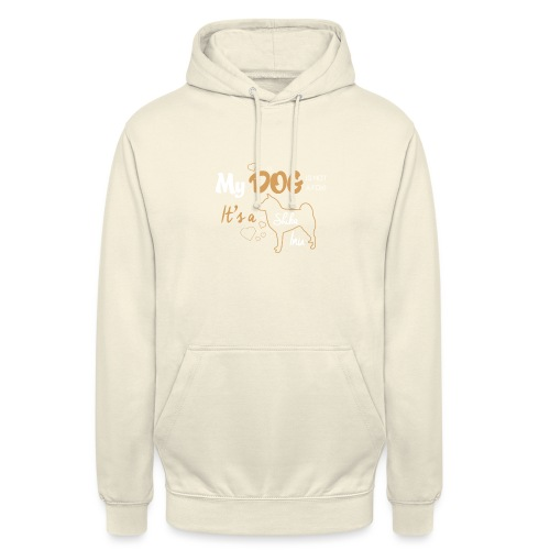 DOG - Sweat-shirt à capuche unisexe