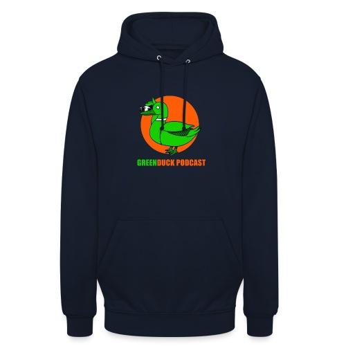 Greenduck Podcast Logo - Hættetrøje unisex