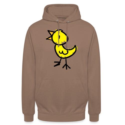 Bird Line Drawing Pixellamb - Unisex Hoodie