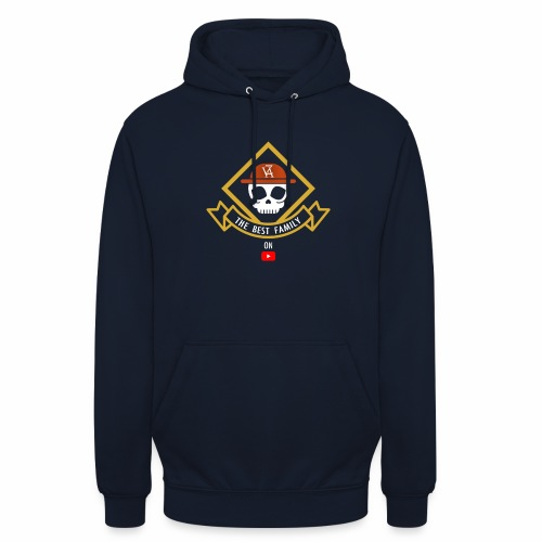 The Best Pirate family - Sweat-shirt à capuche unisexe