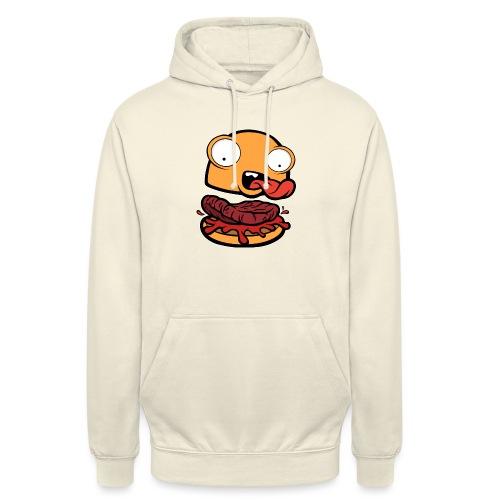 Crazy Burger - Sudadera con capucha unisex