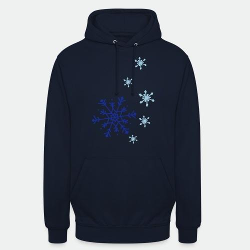 Snowflakes falling - Unisex Hoodie