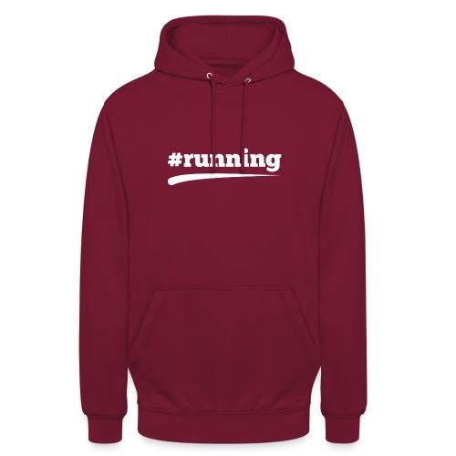 #RUNNING - Unisex Hoodie