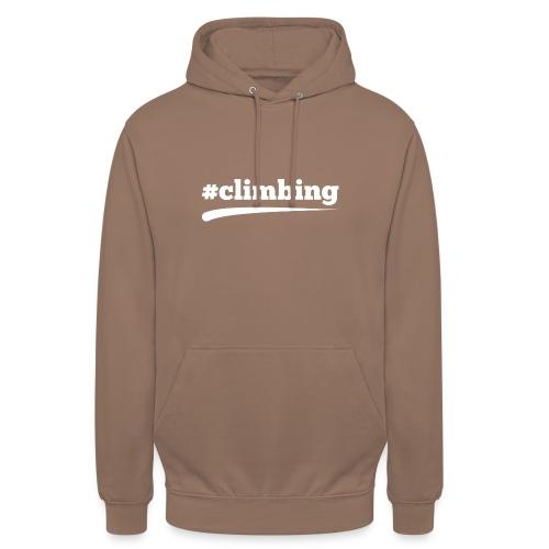 #CLIMBING - Unisex Hoodie