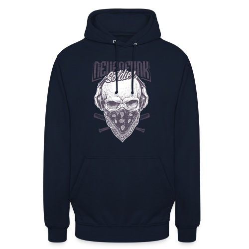 neurofunk soldier - Sweat-shirt à capuche unisexe
