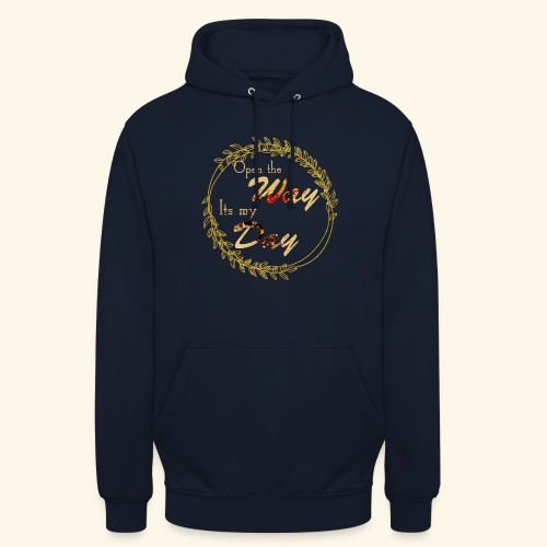 its my day weddingcontest - Unisex Hoodie