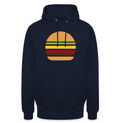 Logo Burger Panhamburger - Sweat-shirt à capuche unisexe