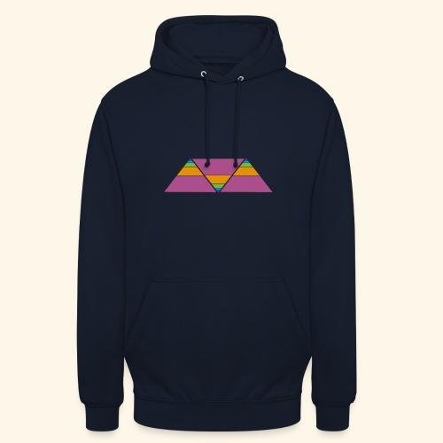 triangulos - Sudadera con capucha unisex