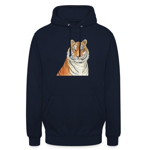 Tigre,Tiger,Wildlife,Natura,Felino - Felpa con cappuccio unisex