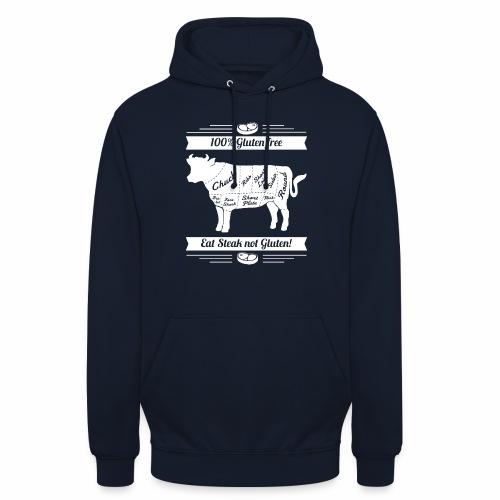 Lustiges Design für Fleisch-Fans - Unisex Hoodie