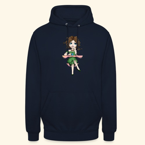 Green Lady - Sweat-shirt à capuche unisexe