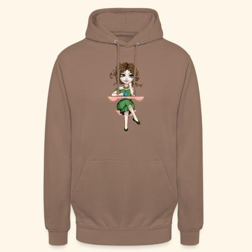 Green Lady - Sweat-shirt à capuche unisexe