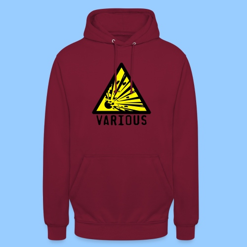 VariousExplosions Triangle (2 colour) - Unisex Hoodie