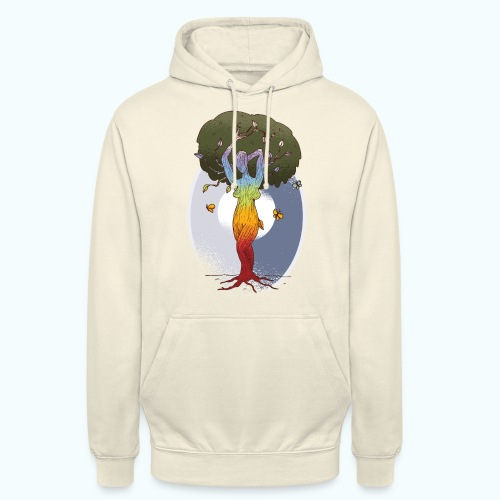 Mother nature tree of life - Unisex Hoodie
