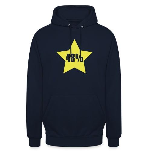 48% in Star - Unisex Hoodie
