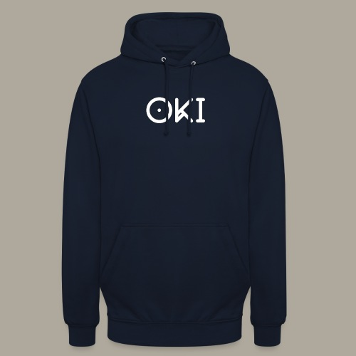 Oki Original - Han - Sweat-shirt à capuche unisexe