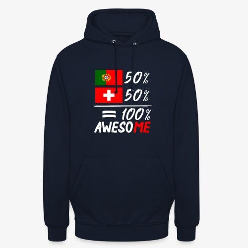 50% Portugal 50% Schweiz - Unisex Hoodie