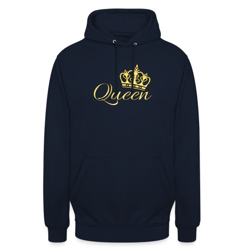 Queen Or -by- T-shirt chic et choc - Sweat-shirt à capuche unisexe