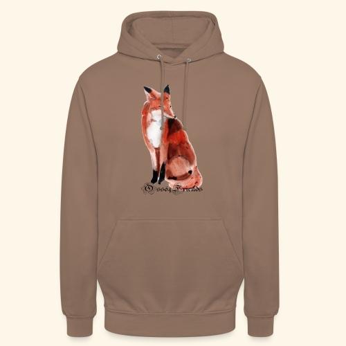 FOX - Felpa con cappuccio unisex