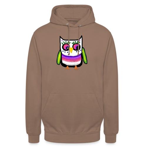 Colorful owl - Unisex Hoodie