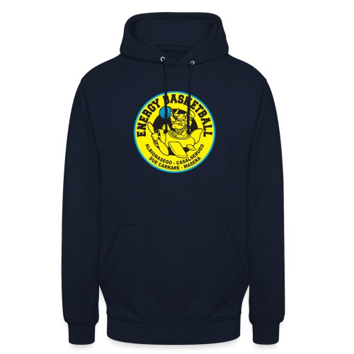 street wear energy basketball merchandising - Felpa con cappuccio unisex