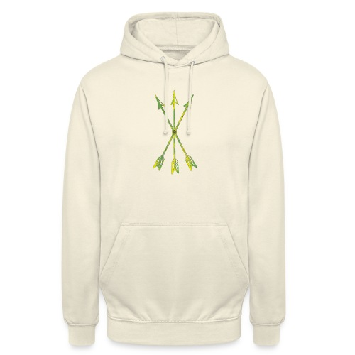 Scoia tael emblem green yellow - Unisex Hoodie