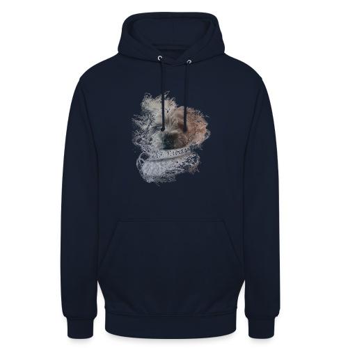 chien - Sweat-shirt à capuche unisexe