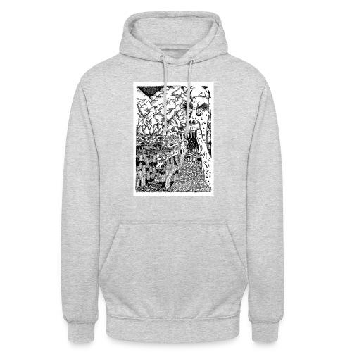 Sea Monsters T-Shirt by Backhouse - Unisex Hoodie