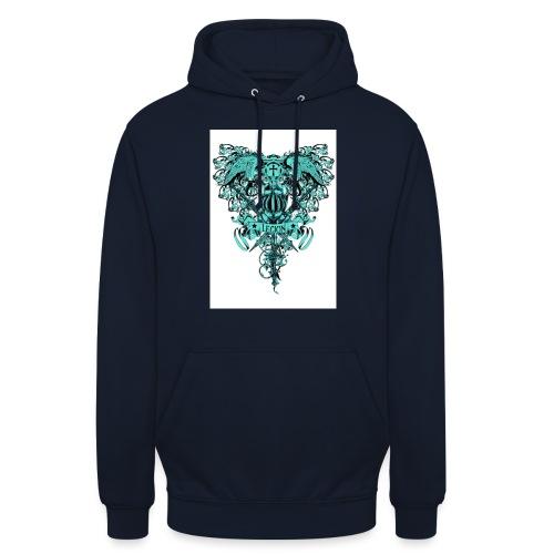 tee template426 - Sweat-shirt à capuche unisexe