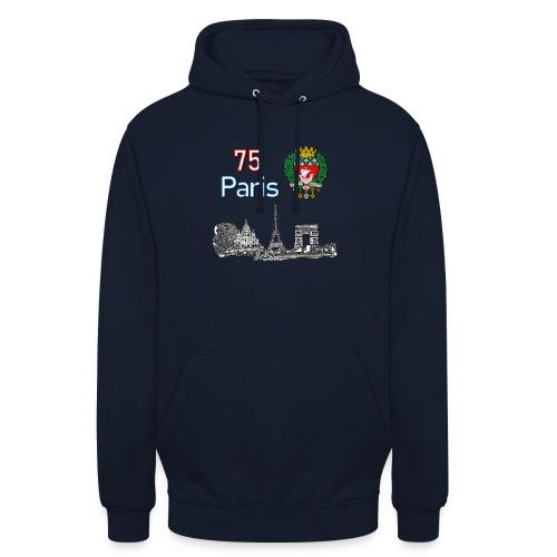 Paris france - Sweat-shirt à capuche unisexe