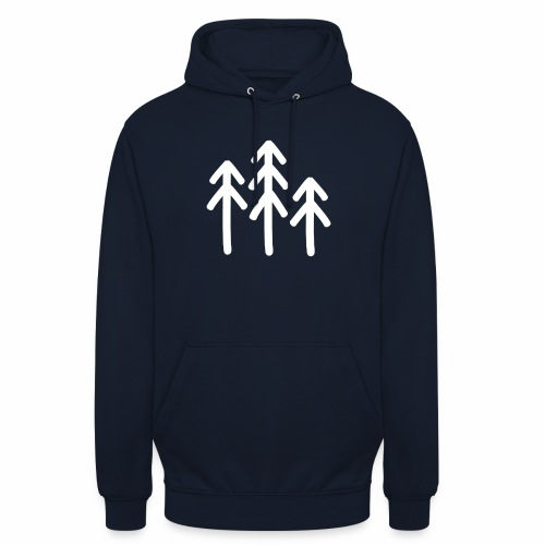 RIDE.company - just trees - Unisex Hoodie