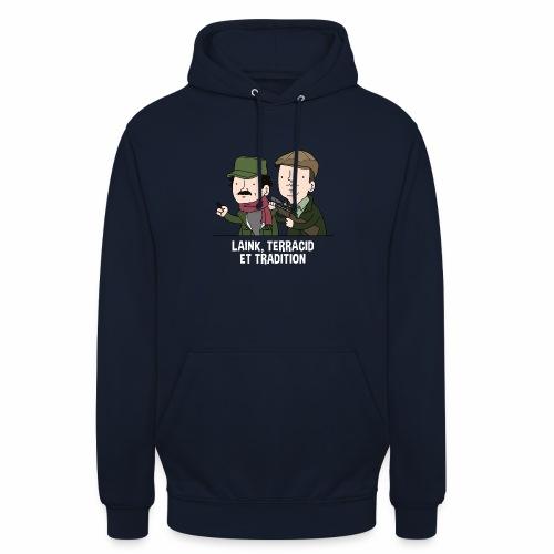 Laink, Terracid et Tradition - Sweat-shirt à capuche unisexe