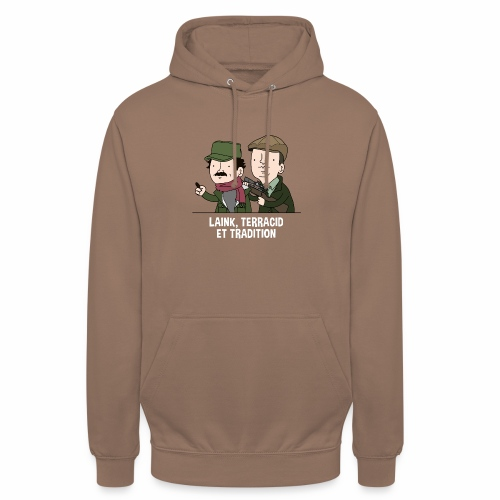 Laink, Terracid et Tradition - Sweat-shirt à capuche unisexe