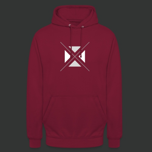 hipster triangles - Unisex Hoodie
