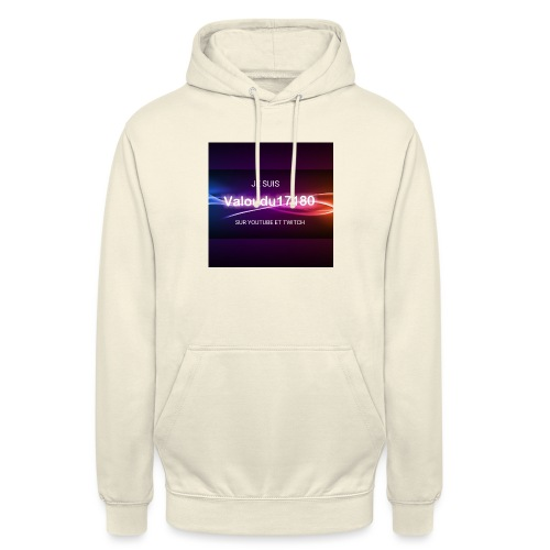 Valoudu17180twitch - Sweat-shirt à capuche unisexe
