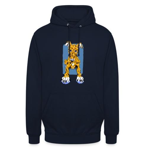 HUG Greyhound Pup - Unisex Hoodie