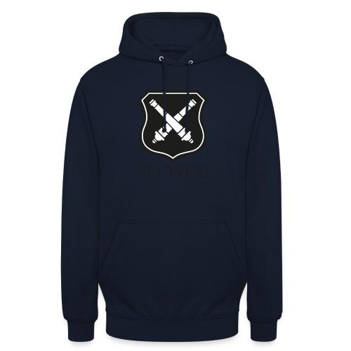 """Tykki logo musta - Huppari """"unisex"""""""