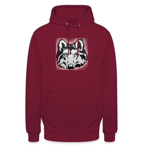 Wolfie (Red) - Unisex Hoodie