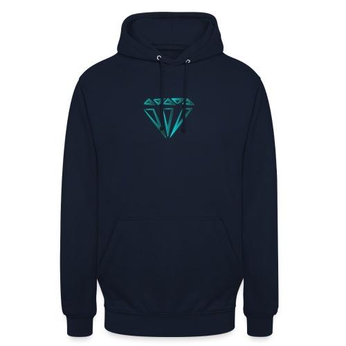 diamante - Felpa con cappuccio unisex