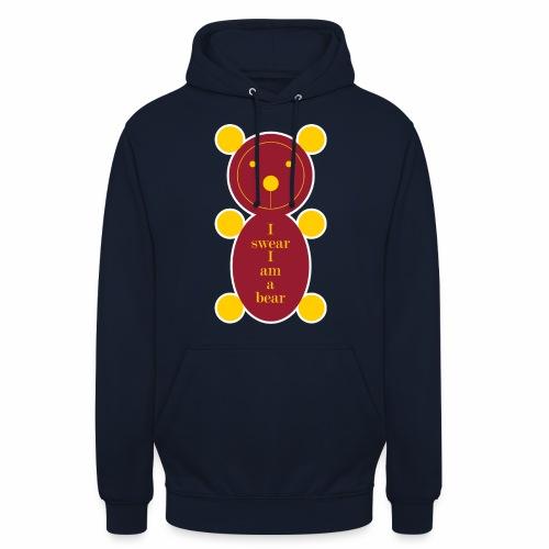 I swear I am a bear 001 - Hoodie unisex