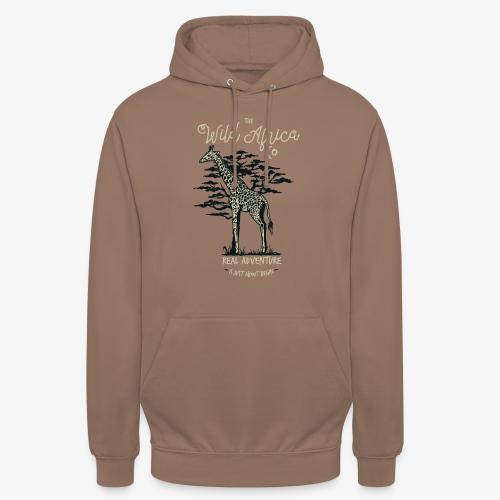 Girafe - Sweat-shirt à capuche unisexe