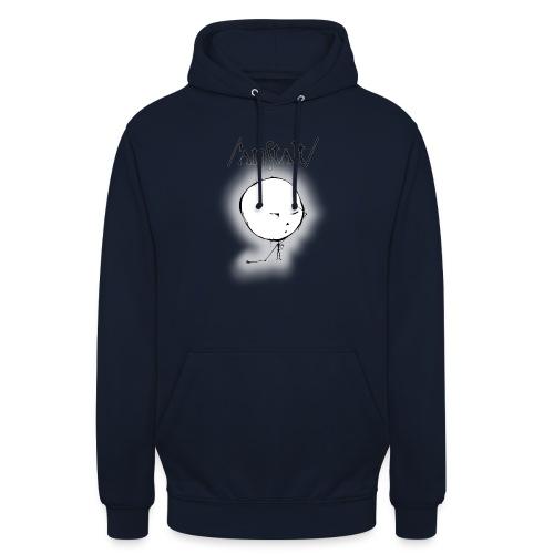 kreisling mit logo (schwarz) - Unisex Hoodie