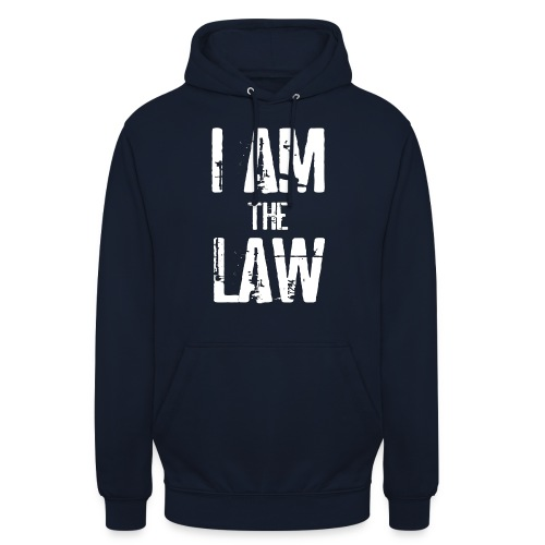Tank top girl woman I AM THE LAW per avvocatessa - Unisex Hoodie