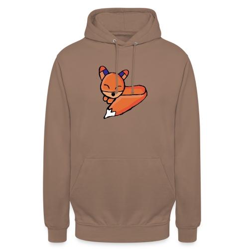 Edo le renard - Sweat-shirt à capuche unisexe