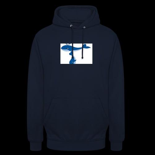 whale t - Unisex Hoodie