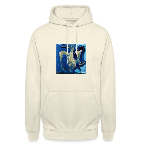 TIAN GREEN Welt Mosaik - AT042 Blue Passion - Unisex Hoodie