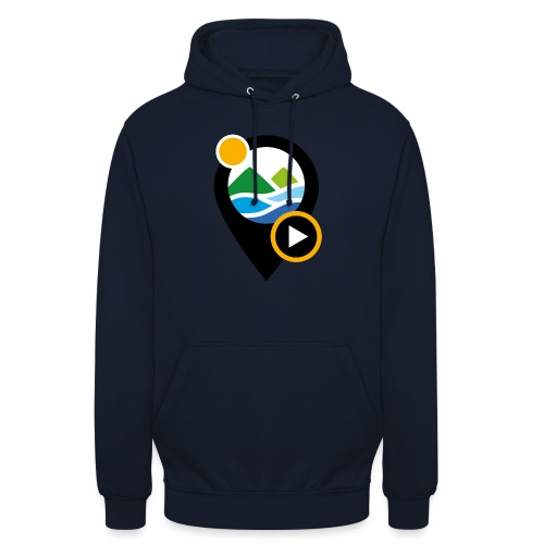 PICTO - Sweat-shirt à capuche unisexe