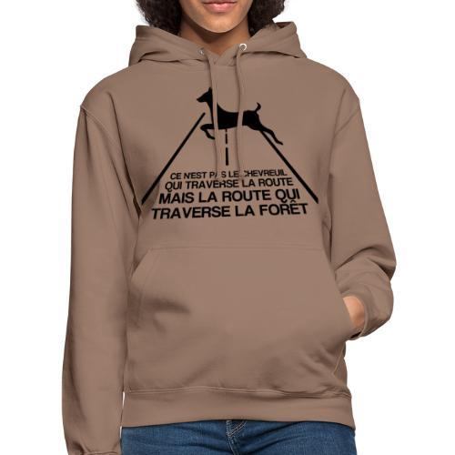 Chevreuil - Sweat-shirt à capuche unisexe
