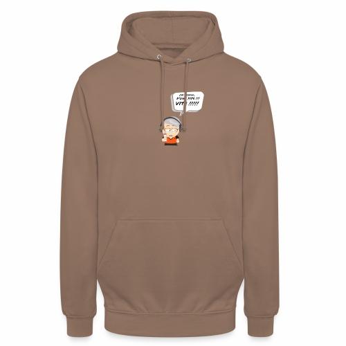 Le Vieux Bourré - Sweat-shirt à capuche unisexe